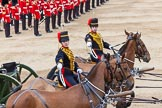 Major General's Review 2013: The Ride Past - the King's Troop Royal Horse Artillery.. Horse Guards Parade, Westminster, London SW1,  United Kingdom, on 01 June 2013 at 11:52, image #602
