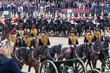 Major General's Review 2013: The Ride Past - the King's Troop Royal Horse Artillery.. Horse Guards Parade, Westminster, London SW1,  United Kingdom, on 01 June 2013 at 11:52, image #608