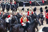 Major General's Review 2013: The First and Second Divisions of the Sovereign's Escort, The Life Guards, during the Ride Past.. Horse Guards Parade, Westminster, London SW1,  United Kingdom, on 01 June 2013 at 11:53, image #616