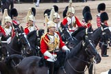 Major General's Review 2013: The First and Second Divisions of the Sovereign's Escort, The Life Guards, during the Ride Past.. Horse Guards Parade, Westminster, London SW1,  United Kingdom, on 01 June 2013 at 11:53, image #617