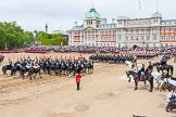 Major General's Review 2013: The Third and Forth Divisions of the Sovereign's Escort, The Blues and Royals, during the Ride Past.. Horse Guards Parade, Westminster, London SW1,  United Kingdom, on 01 June 2013 at 11:54, image #632