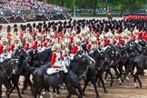 Major General's Review 2013: The First and Second Divisions of the Sovereign's Escort, The Life Guards, during the Ride Past.. Horse Guards Parade, Westminster, London SW1,  United Kingdom, on 01 June 2013 at 11:57, image #650