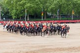Major General's Review 2013: The Mounted Bands of the Household Cavalry during the Ride Past.. Horse Guards Parade, Westminster, London SW1,  United Kingdom, on 01 June 2013 at 11:57, image #658