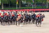 Major General's Review 2013: The Mounted Bands of the Household Cavalry during the Ride Past.. Horse Guards Parade, Westminster, London SW1,  United Kingdom, on 01 June 2013 at 11:57, image #659