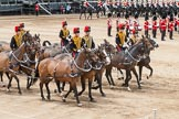 Major General's Review 2013: The Ride Past - the King's Troop Royal Horse Artillery.. Horse Guards Parade, Westminster, London SW1,  United Kingdom, on 01 June 2013 at 11:56, image #644