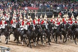Major General's Review 2013: The First and Second Divisions of the Sovereign's Escort, The Life Guards, during the Ride Past.. Horse Guards Parade, Westminster, London SW1,  United Kingdom, on 01 June 2013 at 11:56, image #648