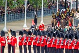 Major General's Review 2013: The Mounted Bands of the Household Cavalry are ready to leave, they follow the Royal Horse Artillery to march off via The Mall.. Horse Guards Parade, Westminster, London SW1,  United Kingdom, on 01 June 2013 at 12:01, image #676