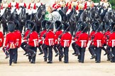 Major General's Review 2013: The six guards change formation, from a long, L-shaped line of guardsmen to six divisions.. Horse Guards Parade, Westminster, London SW1,  United Kingdom, on 01 June 2013 at 12:01, image #678