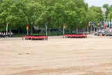 Major General's Review 2013: The six guards change formation, from a long, L-shaped line of guardsmen to six divisions.. Horse Guards Parade, Westminster, London SW1,  United Kingdom, on 01 June 2013 at 12:02, image #680