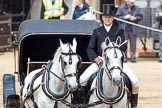 Major General's Review 2013: The Coach is brought back onto Horse Guards Parade.. Horse Guards Parade, Westminster, London SW1,  United Kingdom, on 01 June 2013 at 12:06, image #707