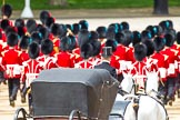 Major General's Review 2013: The Royal Procession is leaving Horse Guards Parade.. Horse Guards Parade, Westminster, London SW1,  United Kingdom, on 01 June 2013 at 12:08, image #712