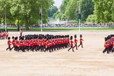 Major General's Review 2013: Guards during the March off.. Horse Guards Parade, Westminster, London SW1,  United Kingdom, on 01 June 2013 at 12:08, image #715
