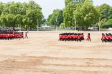 Major General's Review 2013: Guards during the March off.. Horse Guards Parade, Westminster, London SW1,  United Kingdom, on 01 June 2013 at 12:08, image #717