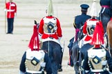 Major General's Review 2013: The four troopers of The Blues and Royals are about to join the four troopers of The Life Guards.. Horse Guards Parade, Westminster, London SW1,  United Kingdom, on 01 June 2013 at 12:10, image #728