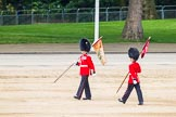 Major General's Review 2013: After the parade - the Keepers of the Ground, the first to arrive at Horse Guards Parade, are the last to leave.. Horse Guards Parade, Westminster, London SW1,  United Kingdom, on 01 June 2013 at 12:12, image #737