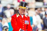 Trooping the Colour 2013: Mark Hargreaves, Head Coachman, in charge of the Glass Coach carrying HM The Queen.. Horse Guards Parade, Westminster, London SW1,  United Kingdom, on 15 June 2013 at 10:59, image #288