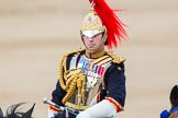 Trooping the Colour 2013: Silver-Stick-in-Waiting, Colonel Stuart Cowen, The Blues and Royals, during the Inspection of the Line.. Horse Guards Parade, Westminster, London SW1,  United Kingdom, on 15 June 2013 at 11:02, image #322
