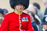Trooping the Colour 2013: Foot Guards Regimental Adjutant Colonel D D S A Vandeleur, Coldstream Guards, during the Inspection of the Line.. Horse Guards Parade, Westminster, London SW1,  United Kingdom, on 15 June 2013 at 11:03, image #326