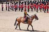 Trooping the Colour 2013: The Ride Past - the King's Troop Royal Horse Artillery.. Horse Guards Parade, Westminster, London SW1,  United Kingdom, on 15 June 2013 at 11:54, image #663