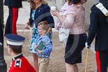Trooping the Colour 2013 (spectators): Spectators arriving at Horse Guards Arch. Image #941, 15 June 2013 09:12