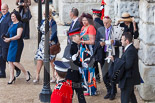 Trooping the Colour 2013 (spectators): Spectators arriving at Horse Guards Arch. Image #955, 15 June 2013 09:30