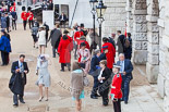 Trooping the Colour 2013 (spectators): Spectators arriving at Horse Guards Arch. Image #976, 15 June 2013 09:47
