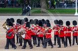 Trooping the Colour 2013: Musicians of the Band of the Irish Guards. Image #59, 15 June 2013 10:16 Horse Guards Parade, London, UK