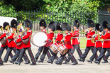 Trooping the Colour 2013: Musicians of the Band of the Grenadier Guards. Image #91, 15 June 2013 10:27 Horse Guards Parade, London, UK
