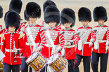 Trooping the Colour 2013: Musicians of the Band of the Grenadier Guards. Image #98, 15 June 2013 10:29 Horse Guards Parade, London, UK