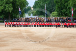 Trooping the Colour 2013: The King's Troop Royal Horse Artillery is complete and in position,. Image #164, 15 June 2013 10:41 Horse Guards Parade, London, UK