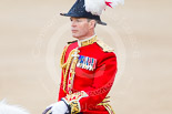 Trooping the Colour 2013: Major General Commanding the Household Division and General Officer Commanding London District, Major George Norton, during the Inspection of the Line. Image #321, 15 June 2013 11:02 Horse Guards Parade, London, UK