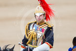 Trooping the Colour 2013: Silver-Stick-in-Waiting, Colonel Stuart Cowen, The Blues and Royals, during the Inspection of the Line. Image #322, 15 June 2013 11:02 Horse Guards Parade, London, UK