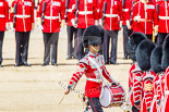 "Trooping the Colour 2013: The ""Lone Drummer"", Lance Corporal Christopher Rees,  re-joins the band. Image #432, 15 June 2013 11:16 Horse Guards Parade, London, UK"