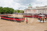 Trooping the Colour 2013: No. 1 to No. 5 Guard during the March Past. Image #554, 15 June 2013 11:38 Horse Guards Parade, London, UK