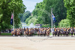 Trooping the Colour 2013: The King's Troop Royal Horse Artillery at their position in front of St James's Park Lake. Image #619, 15 June 2013 11:48 Horse Guards Parade, London, UK