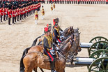 Trooping the Colour 2013: The Ride Past - the King's Troop Royal Horse Artillery. Image #684, 15 June 2013 11:54 Horse Guards Parade, London, UK
