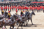 Trooping the Colour 2013: The Ride Past - the King's Troop Royal Horse Artillery. Image #685, 15 June 2013 11:54 Horse Guards Parade, London, UK