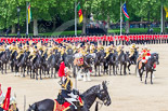 Trooping the Colour 2013: The Mounted Bands of the Household Cavalry during the Ride Past. Image #736, 15 June 2013 11:59 Horse Guards Parade, London, UK