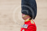 Trooping the Colour 2013: One of the Non-Royal Colonels, Colonel Coldstream Guards General Sir James Bucknall. Image #816, 15 June 2013 12:10 Horse Guards Parade, London, UK