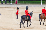 Trooping the Colour 2013: As Non-Royal Colonel, Colonel Coldstream Guards General Sir James Bucknall, during the March Off. Image #829, 15 June 2013 12:11 Horse Guards Parade, London, UK