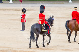 Trooping the Colour 2013: As Non-Royal Colonel, Colonel Coldstream Guards General Sir James Bucknall, during the March Off. Image #830, 15 June 2013 12:11 Horse Guards Parade, London, UK