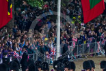 Trooping the Colour 2015. Image #76, 13 June 2015 10:24 Horse Guards Parade, London, UK