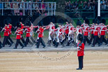 Trooping the Colour 2015. Image #95, 13 June 2015 10:28 Horse Guards Parade, London, UK