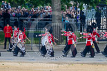 Trooping the Colour 2015. Image #102, 13 June 2015 10:28 Horse Guards Parade, London, UK