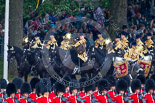 Trooping the Colour 2015. Image #215, 13 June 2015 10:56 Horse Guards Parade, London, UK