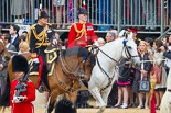 Trooping the Colour 2015. Image #243, 13 June 2015 10:58 Horse Guards Parade, London, UK