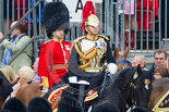 Trooping the Colour 2015. Image #248, 13 June 2015 10:59 Horse Guards Parade, London, UK