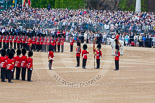 Trooping the Colour 2015. Image #377, 13 June 2015 11:19 Horse Guards Parade, London, UK