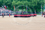 Trooping the Colour 2015. Image #427, 13 June 2015 11:31 Horse Guards Parade, London, UK