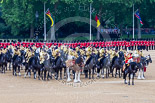 Trooping the Colour 2015. Image #527, 13 June 2015 11:52 Horse Guards Parade, London, UK